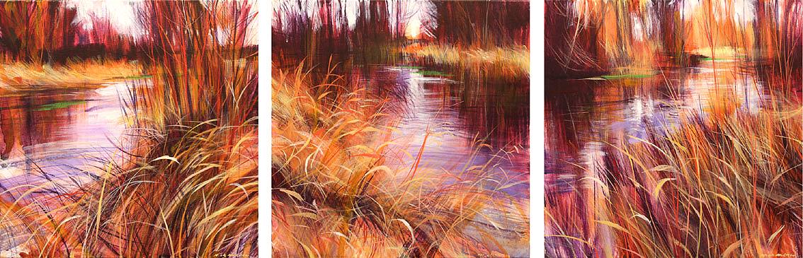 Nick-Andrew-Averia-triptychacrylic-on-canvas-45x140cm