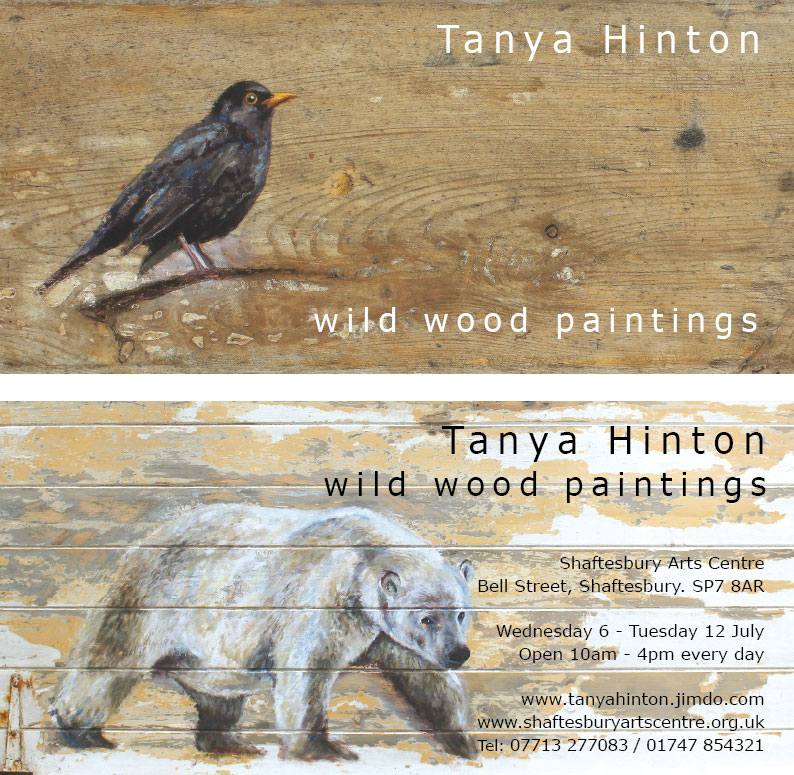 Tanya Hinton Exhibition. Shaftesbury Arts Centre